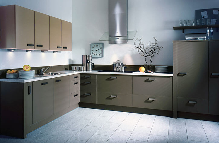 L-Shape Modular Kitchens