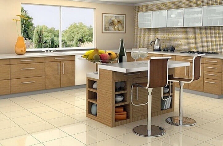 Island Modular Kitchens in Bangalore