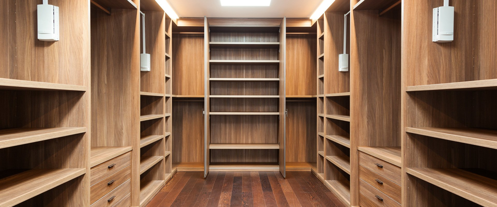 How to design a Walk in Wardrobe