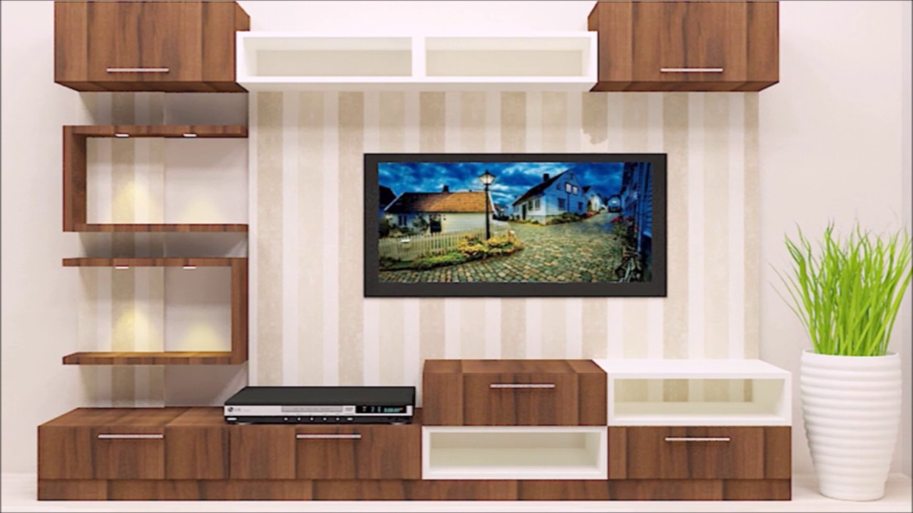 Tv Unit Designs : Smart Ways To Design Your Living Room