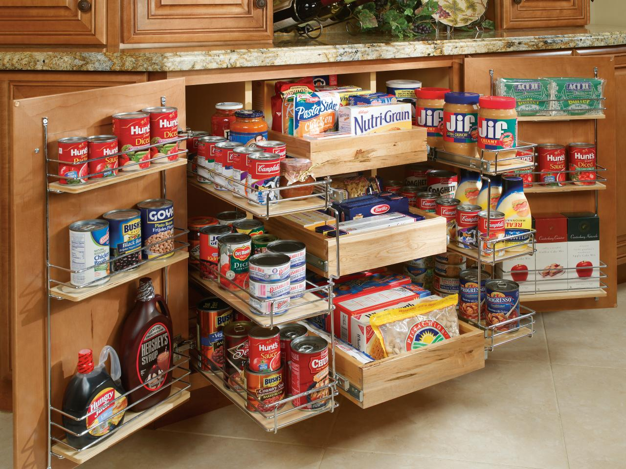 Organize your kitchen Cabinets and Drawer Tips