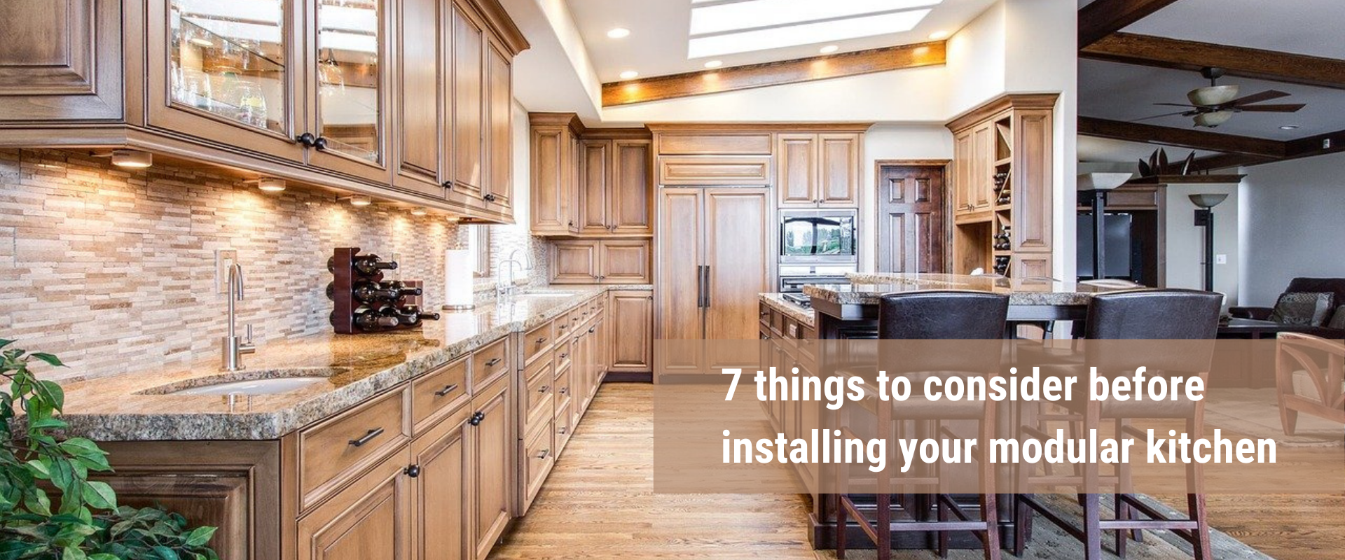 7 things to consider before installing your modular kitchen