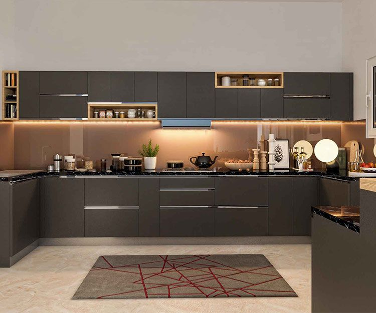 Modular kitchen Design with the specific space